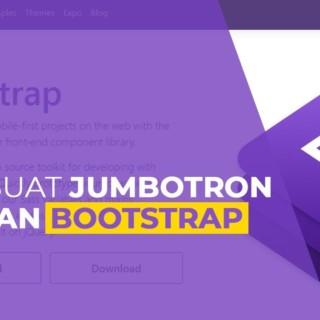 Tutorial Bootstrap #3 Membuat JUMBOTRON dengan Bootstrap