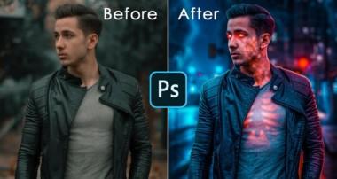 Inside Glow Effect in Photoshop + few more cool effects