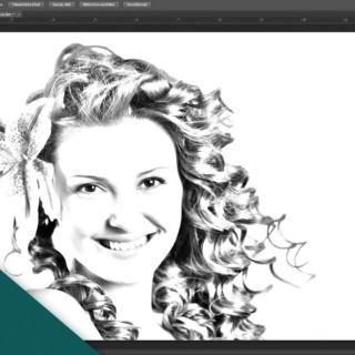 Adobe Photoshop CS6 Tutorial  – Foto in Bleistiftzeichnung verwandeln [Deutsch]