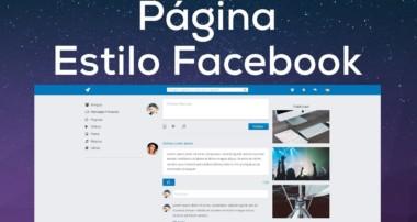 Como diseñar una Página Estilo Facebook con Bootstrap 4 (Presentación del proyecto)