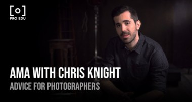 AMA with Photographer Chris Knight | Photography Advice From PRO EDU Tutorial Dramatic Portraiture
