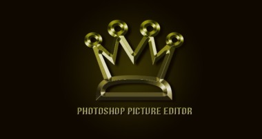 Photoshop CS6:  How To Make Gold LOGO Effect