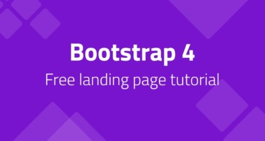 Build A Complete HTML & CSS Website with Bootstrap 4