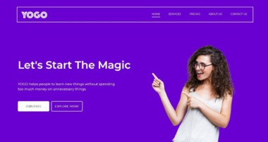 How To Make Website Using HTML CSS Bootstrap Complate Website Design