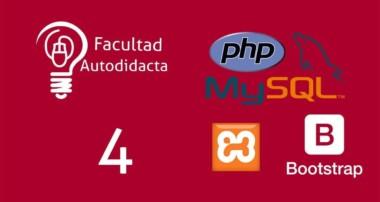 4.-Tablas dinámicas con datatable, php, mysql y bootstrap 4 – Mostrar datos y formato datatable