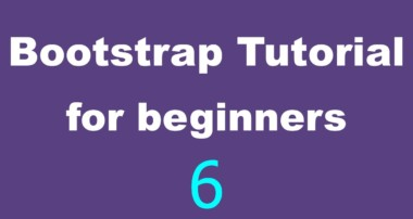 Bootstrap Tutorial for Beginners – 06 – The Grid Layout Part 4 – Multiple Rows