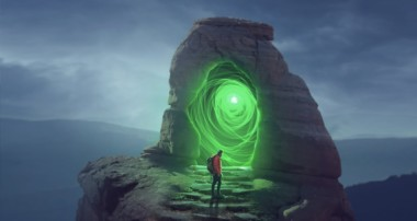 The Portal Photo Manipulation Photoshop Tutorial