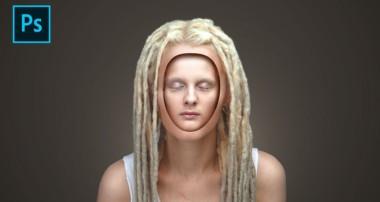 Inside Face Portrait Effect Photoshop Tutorial
