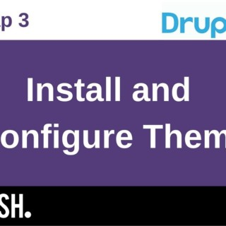 Using Bootstrap 3 in Drupal 8, 2.2: Install and Configure Theme