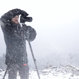 Landscape Photography in Snow Storm