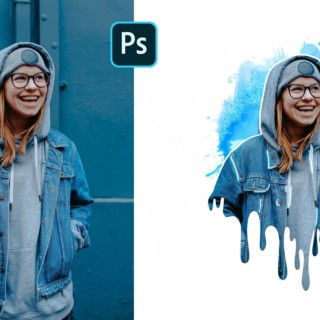 Creative Dripping Effect | Photoshop Tutorial | Splatter Effect