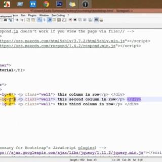 Bootstrap bangla tutorial part-2, bootstrap grid system , বুটস্ট্র্যাপ বাংলা টিউটোরিলা পার্ট দুই