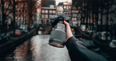 First Person Amsterdam Street POV Photography