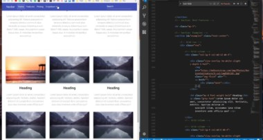 Bootstrap 4 Tutorial [#8] Animations, waves effect, hover effect and shadows