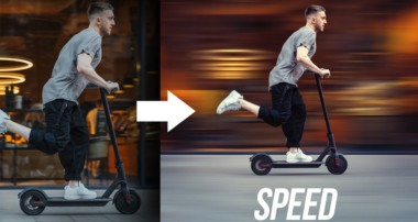 Create SPEED in Photoshop!