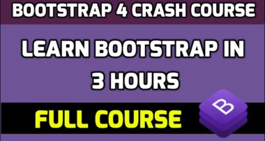 Learn Bootstrap 4 in 3 hours with 30 lessons and 100+ examples | Amit Thinks | 2020