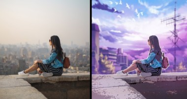 Turn Photo into Anime Style Effect Photoshop Tutorial