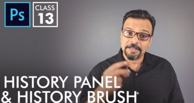 History Panel and History Brush – Adobe Photoshop for Beginners – Class 13 – Urdu / Hindi