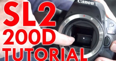 Canon EOS Rebel SL2/200D Tutorial
