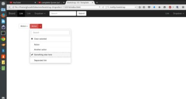 Dropdown Select and Search Using jQuery and Bootstrap