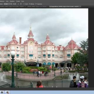 Photoshop CS6 tutorial italiano: correggere cielo bianco o grigio