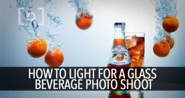 How To Light For A Glass Beverage Photo Shoot | PRO EDU Tutorial