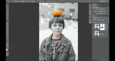 Photoshop CS6: Working with masks   lynda.com tutorial