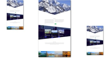 Build Travel Website HTML & CSS Website with Bootstrap 4 | Bootstrap Tutorial For Beginner