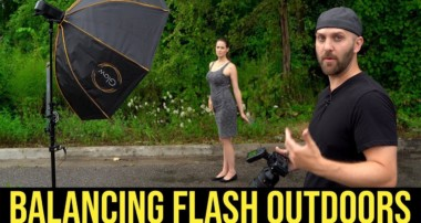 Flash Photography Tutorial : How to Balance a Flash Outdoors