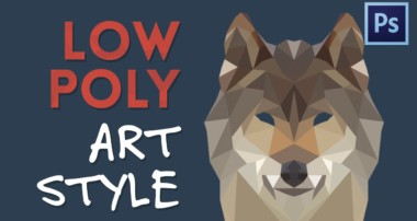 Low Poly Artwork from Photographs | Photoshop Tutorial
