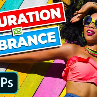 Saturation vs Vibrance! Differences Revealed – Photoshop Tutorial