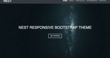 Bootstrap 4 Responsive Website Theme – Start To Finish – Bootstrap 4, HTML5, CSS3