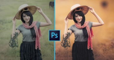 Photoshop CC – How I Edit Outdoor Portrait – Easy & Fast ❤ – In Hindi