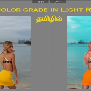 Color Grade in Lightroom | Learn Photography in Tamil
