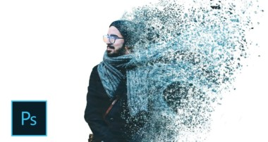 How to create particle dispersion effect | Photoshop Tutorial CS6/CC | Hindi