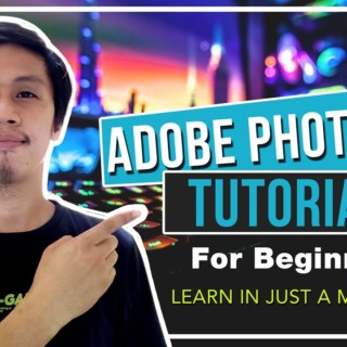 Adobe Photoshop : Basic Editing Tutorial for beginners TAGALOG