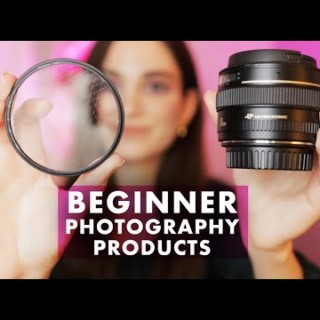 MUST HAVE Photography Products for Beginners