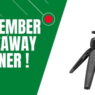 November Giveaway Winner | Tamil Photography Tutorials